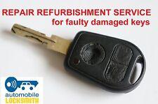 Repair for BMW E46 E38 E39 Z3 3 button remote key Refurbishment Service Fix