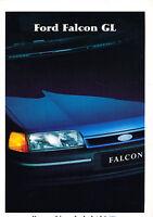 1991 Ford Falcon GL Australia Sales Brochure Book