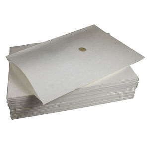 """FILTER 14"""" X 3/8"""" X 20-1/2"""" W/Center Hole 100/BX for Pitco Fryer A6667103 851343"""