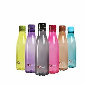 Plastik Kühlschrank Wasserflasche Set 6 Teile, 1 I, Mehrfarbig