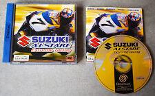 Jeu SUZUKI ALSTARE Extreme Racing Complet sur SEGA DREAMCAST (CD remis à neuf)