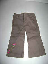 AMERICAN GIRL DOLL PHOTOGRAPHER PANTS OUTFIT BROWN FLORAL Replacement RETIRED