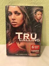 Tru Calling - The Complete First Season 1 One DVD 6 discs Eliza Dushku NEW