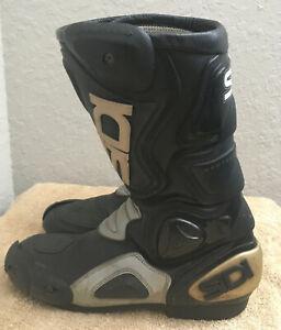 Sidi Brevettato Vertebra System Motorcycle Boots. Size EU 42 (US 9)