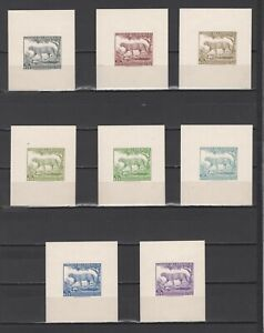 ++ 1961 Fauna 0,75 Nominal in Different Colour Thick Paper