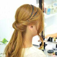 1x Fashion Double Layer Adjustable Head Hair Hoop Elastic Hair Rope Hair Band
