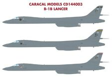 Caracal Decals 1/144 USAF Rockwell B-1B Lancer # 144003