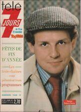 Télé 7 Jours N° 912/1977 - PPDA La Tête et les Jambes R. Widmark Les Muppets
