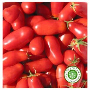 25 Graines de TOMATE SAN MARZANO. légumes anciens. Heirloom graines