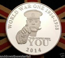 1914 1918 World War I Silver Coin II Home Front WWI Man History II U C British
