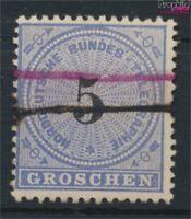 Norddeutscher Postbezirk T5 Federzugentwertung gestempelt 1869 Telegra (9158135