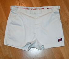 *1980's NIKE / JOHN McENROE* vtg checkered white tennis shorts (L-34) Fila Shirt