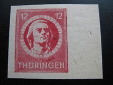THURINGEN SOVIET OCCUPATION ZONE Mi. #97 AX U mint imperf stamp! CV $42.00