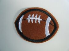 RUGBY BALL PATCH Embroidered Iron On LEAGUE UNION AMERICAN FOOTBALL BADGE NEW