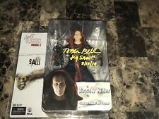Saw Jigsaw Tobin Bell Signed Neca Cult Classics Action Figure Billy The Puppet