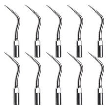 10 US Dental Ultrasonic Scaler Insert Perio Tips PD4 Fit Satelec DTE USA SCtL
