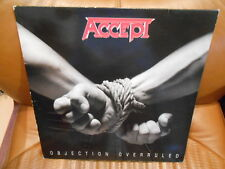 ACCEPT - OBJECTION OVERRULED - 1st PRESS - 1993