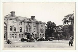 A Frith's Real Photo Post Card of County Square, Ulverston. North Lancashire.