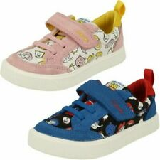 Childrens Clarks City Howdy T Toy Story Detailed Canvas Shoes