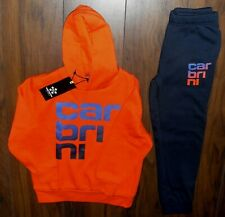Carbrini Rocket Print Hoody / Trackpants Children Size 7 - 8 Years