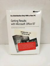 Microsoft Office 97 Professional Edition with Key in original Sealed With Manual