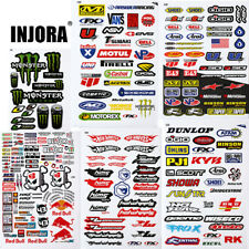 11PCS Decals Stickers for 1/10 10th Scale RC Crawler Car Axial Traxxas Redcat