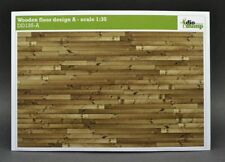 DioDump DD135-A Wooden floor design A - 1:35 scale diorama building accessories