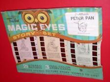 Vintage TRU-VUE MAGIC EYES Walt Disney's Peter Pan 60's Story Set 3-D FULL COLOR
