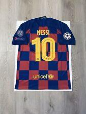Leo Messi Soccer Jersey Barcelona Home Large