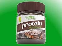 (39,96€/kg) VegiFEEL - Protein AuVstrich - 250 g Glas - Schoko-Haselnuss