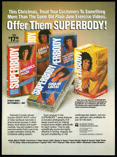 SUPERBODY__Original 1987 Trade Print AD / fitness promo advert__DEBORAH CROCKER