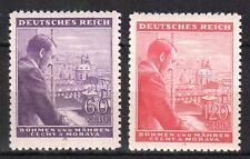 Germany / Bohmen und Mahren - 1943 Birthday Hitler Mi. 126-27 MNH