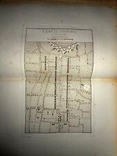 56 - CARTE MAP PLANS Campagne ITALIE 1745 & 1746 ST ANTONIO PLAISANCE 1775