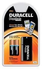 BOÎTE DE 6 DURACELL POCKET CHARGEUR POUR IPOD ET MINI USB ÉCOUTEURS AVEC PILES