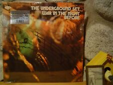 UNDERGROUND SET War In The Night Before LP/1971 Italy/Nuova Idea/Heavy Fuzz Rock
