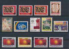 LM82358 Macedonia mixed thematics fine lot MNH