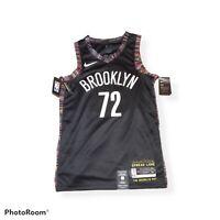 Brooklyn Nets Quincy Acy Statement Black Swingman Jersey