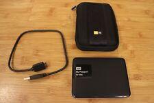 WD My Passport for Mac 3TB Portable External Hard Drive USB 3.0 WDBCGL0030BSL-NE