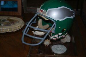 Vintage Philadelphia Eagles game used football helmet