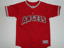 Mike Trout Los Angeles Angels Kids 4-7 Red Alternate Cool Base Player Jersey