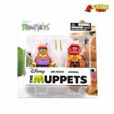 The Muppets Minimates Series 2 Dr. Teeth & Animal