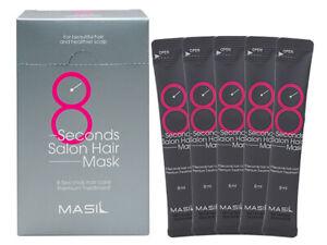 MASIL 8 Seconds Salon Hair Mask 8mlx20pcs Convenient Packs Korea Cosmetics NIB