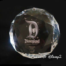 DIAMOND SHAPED PHOTO FRAME or PAPERWEIGHT Disney Disneyland 60th ACRYLIC CRYSTAL