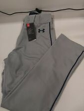 Under Armour Relaxed Fit Piped Baseball Pants Sz Med