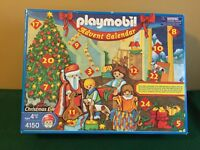 Playmobil Christmas Eve Advent Calendar 4150 Complete W/ Manual