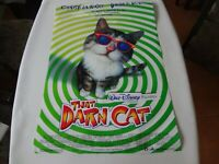 RARE VINTAGE 1997 DISNEY THAT DARN CAT 2 SIDED 40X27 MOVIE POSTER ROLLED backlit