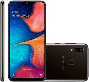 Samsung Galaxy A20 Smartphone - Warranty - New/Pristine Condition Black/White
