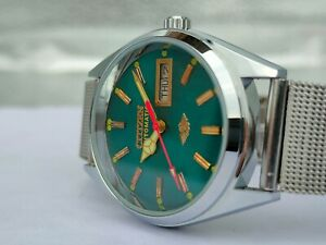 Citizen Automatic Movement No.8200 Day& Date Men's Wrist Watch Working Condition