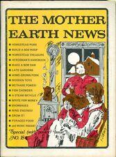1972 Mother Earth News Magazine #18: Homestead Pork/Build Sod Roof/Make Bow Saw