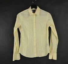 Tommy Hilfiger Shirt Womens Yellow Size 4